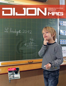 Dijon Mag Janvier 2012