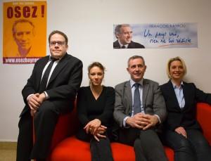 Lancement campagne Dijon 5 départementales 2015